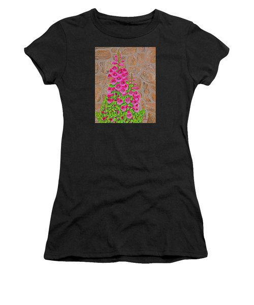 Fuchsia Profusion Women's T-Shirt (Athletic Fit)