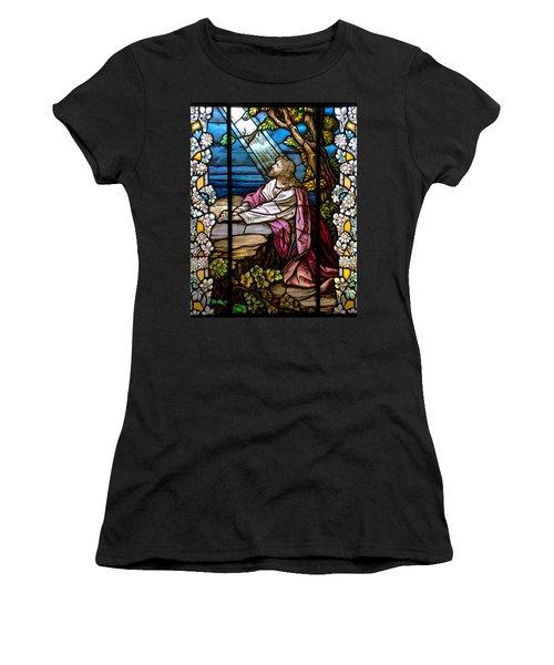 Garden Of Gethsemane Women's T-Shirt (Athletic Fit)