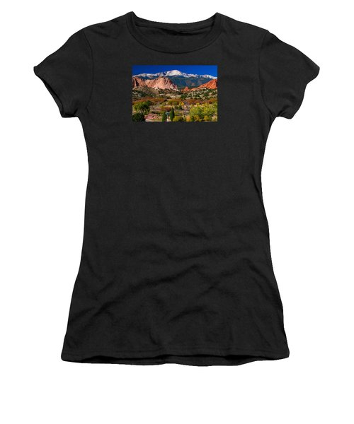 Garden Of The Gods In Autumn 2011 Women's T-Shirt (Athletic Fit)