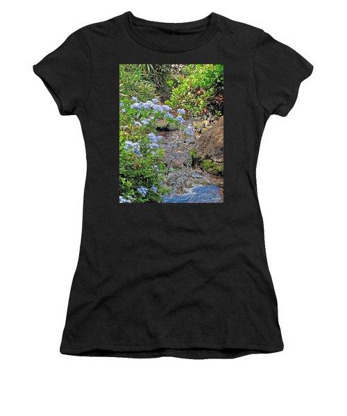 Garden Stream Women's T-Shirt (Athletic Fit)