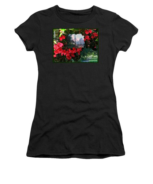 Garden Whispers Women's T-Shirt (Athletic Fit)