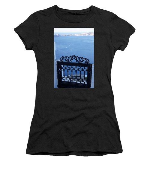Gated Caldera Women's T-Shirt (Athletic Fit)
