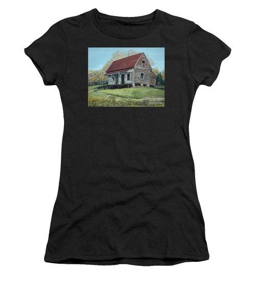 Gates Chapel - Ellijay Ga - Old Homestead Women's T-Shirt (Athletic Fit)
