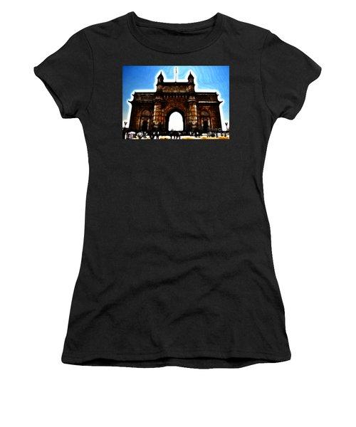 Gateway To Fractalius Women's T-Shirt (Athletic Fit)