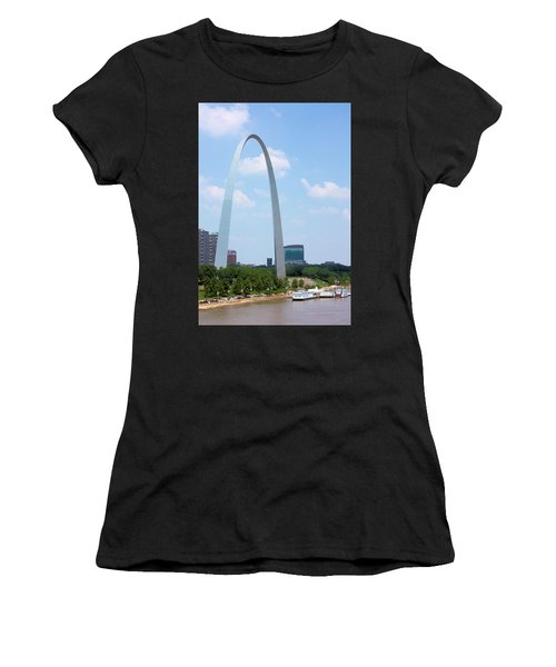 Gateway To The West Women's T-Shirt (Athletic Fit)