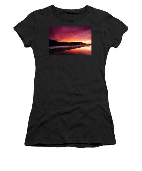 Geoje Skyfire Women's T-Shirt (Athletic Fit)
