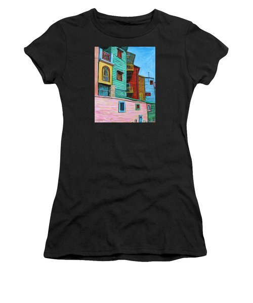 Geometric Colours II Women's T-Shirt (Athletic Fit)