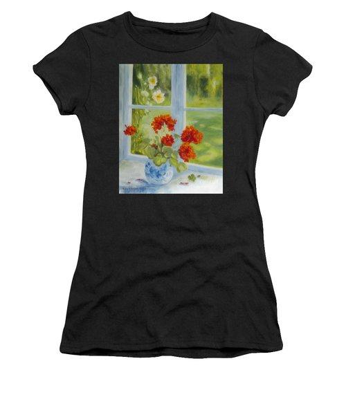 Geranium Morning Light Women's T-Shirt