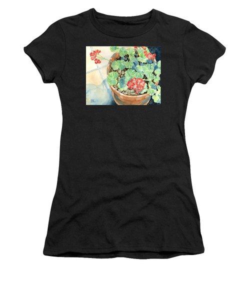Geraniums Women's T-Shirt