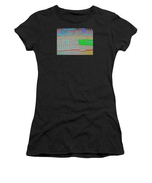 German Cityscape Women's T-Shirt (Athletic Fit)