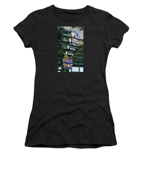 Get Outta Here   Women's T-Shirt (Athletic Fit)