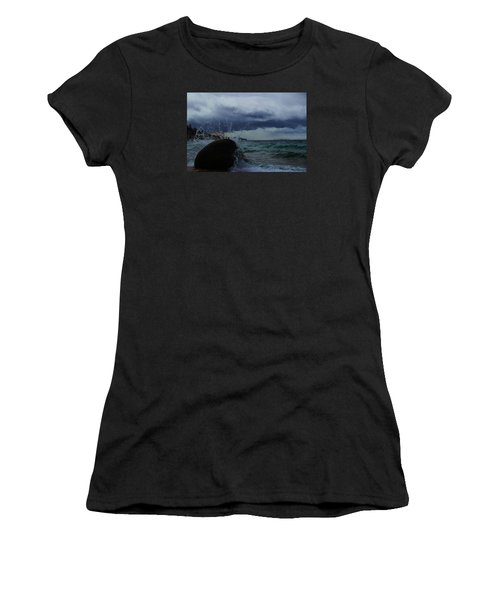 Get Splashed Women's T-Shirt (Athletic Fit)