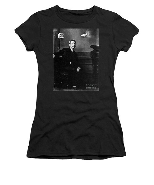 Ghostly Manifestation Or Trick Women's T-Shirt