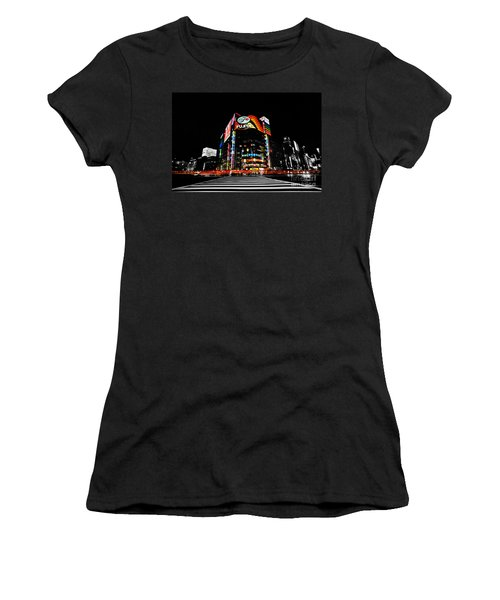Ginza At Night Women's T-Shirt (Athletic Fit)