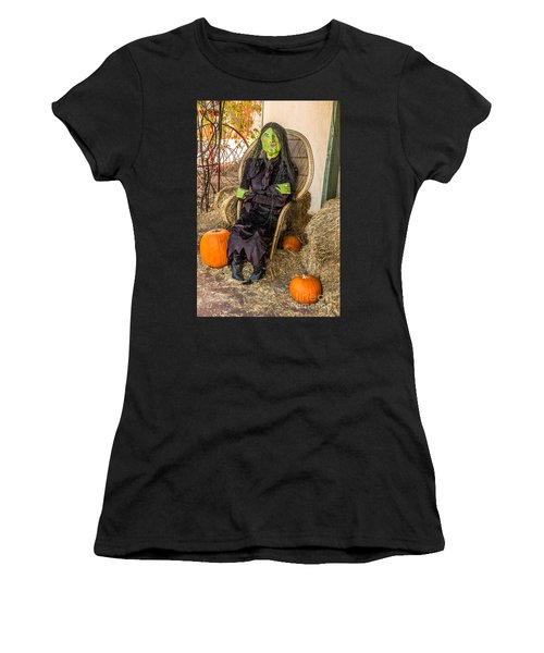Women's T-Shirt (Athletic Fit) featuring the photograph Give Me A Kiss by Sue Smith