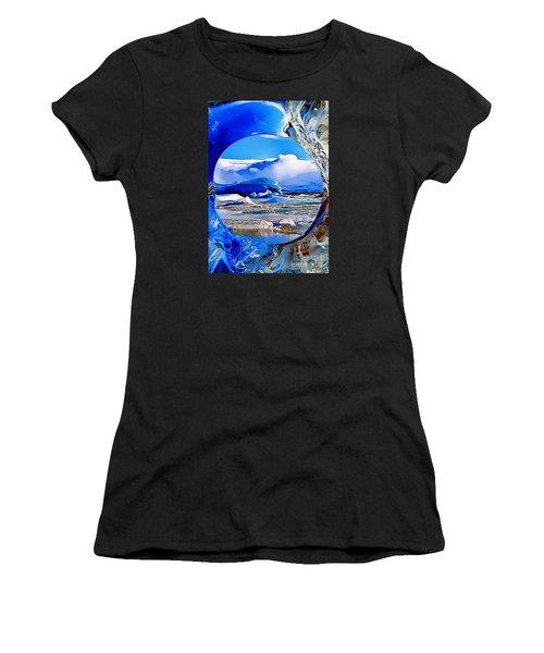Glacier Women's T-Shirt (Athletic Fit)