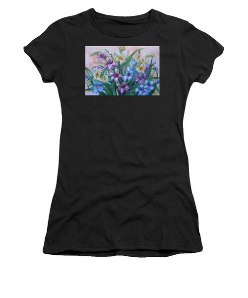 Gladiolus Women's T-Shirt (Athletic Fit)