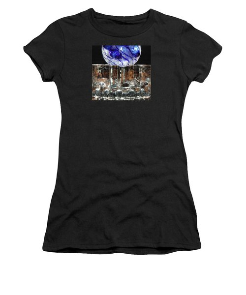 Glass On Glass Women's T-Shirt (Athletic Fit)