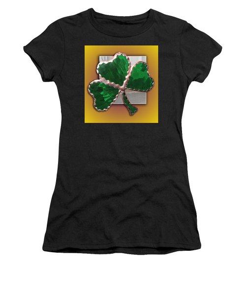 Glass Shamrock Women's T-Shirt