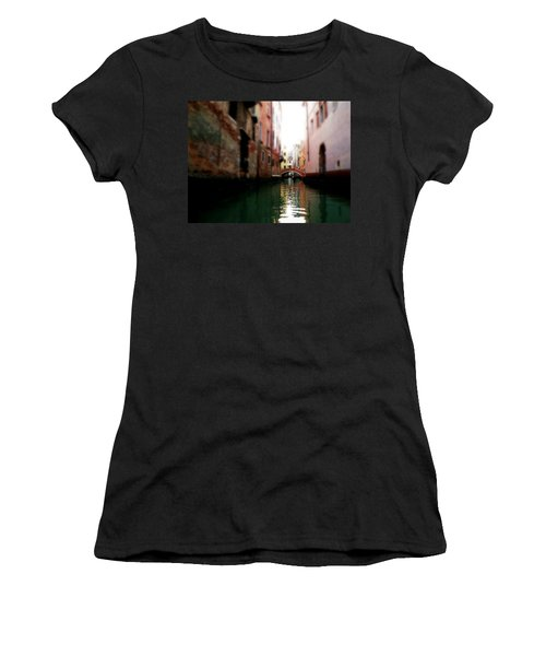 Gliding Along The Canal  Women's T-Shirt (Athletic Fit)