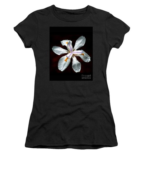 Glisten Women's T-Shirt (Junior Cut) by Angela Murray