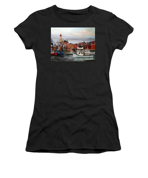 Gloucester Harbor Women's T-Shirt (Athletic Fit)