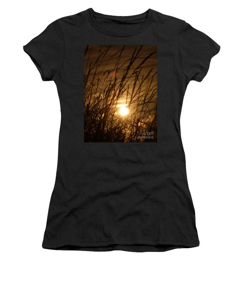 Glow Through The Grass Women's T-Shirt (Athletic Fit)