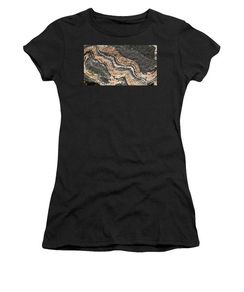 Gneiss Rock  Women's T-Shirt (Athletic Fit)