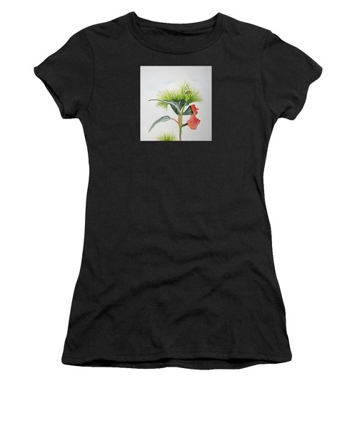 Flowering Gum Tree Women's T-Shirt (Junior Cut) by Elvira Ingram