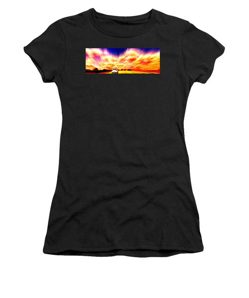 Going For A Ride Women's T-Shirt (Athletic Fit)