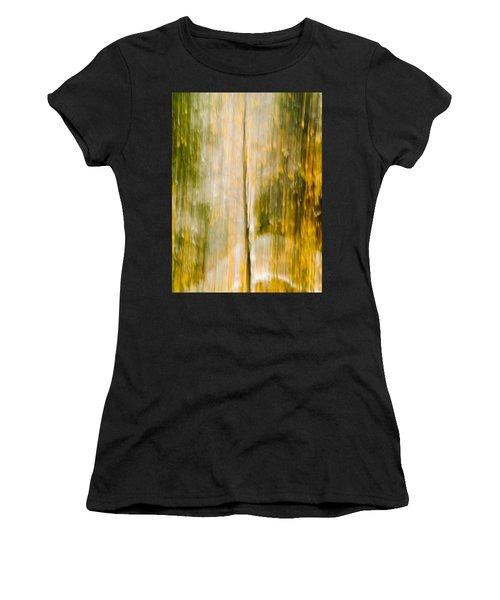 Golden Falls  Women's T-Shirt (Athletic Fit)