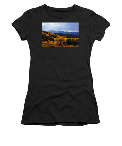 Golden Fourteeners Women's T-Shirt (Athletic Fit)