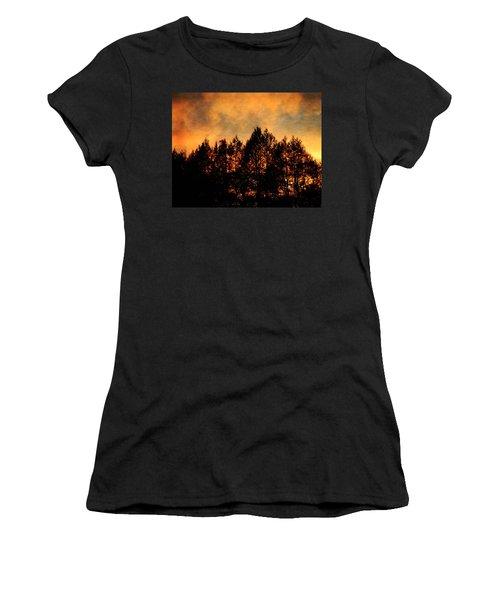 Golden Hours Women's T-Shirt (Athletic Fit)