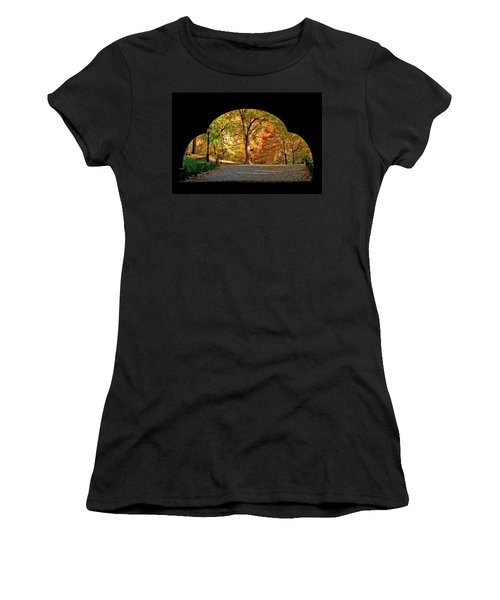 Golden Underpass Women's T-Shirt