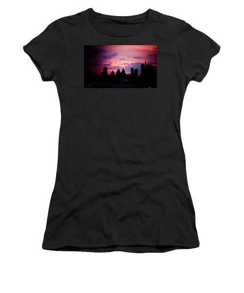 Women's T-Shirt (Junior Cut) featuring the photograph Good Morning New York by Sara Frank