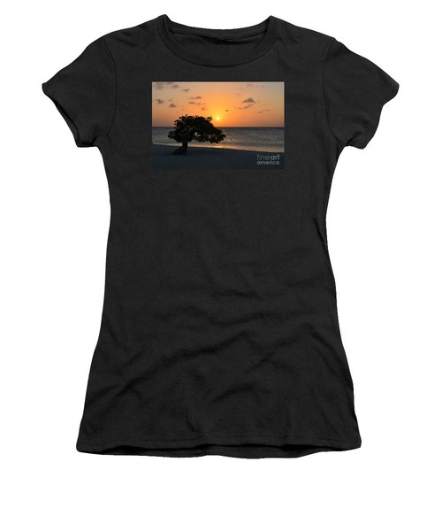 Gorgeous Sunset Women's T-Shirt (Athletic Fit)