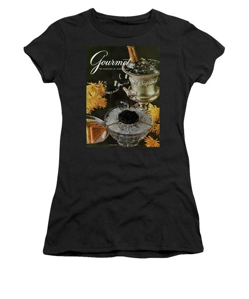 Gourmet Cover Featuring A Wine Cooler Women's T-Shirt