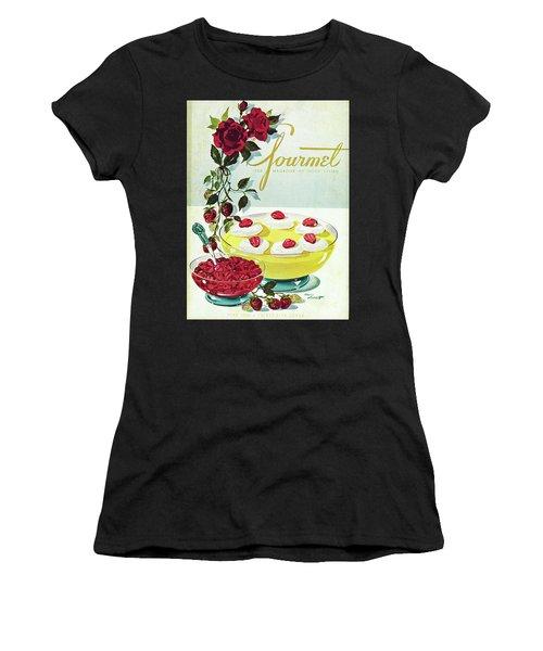 Gourmet Cover Of A Bowl Of Custard Women's T-Shirt
