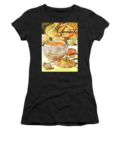Gourmet Cover Of Pumpkin Soup Women's T-Shirt