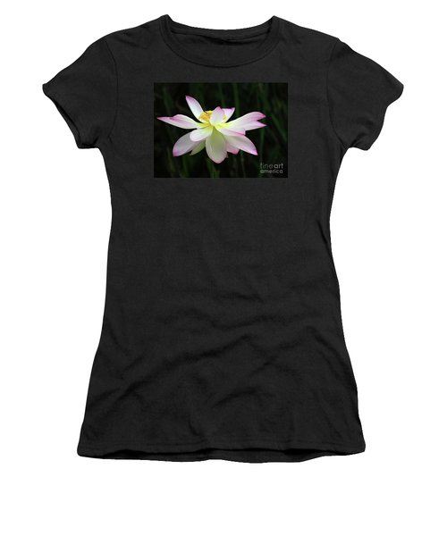Graceful Lotus Women's T-Shirt (Athletic Fit)