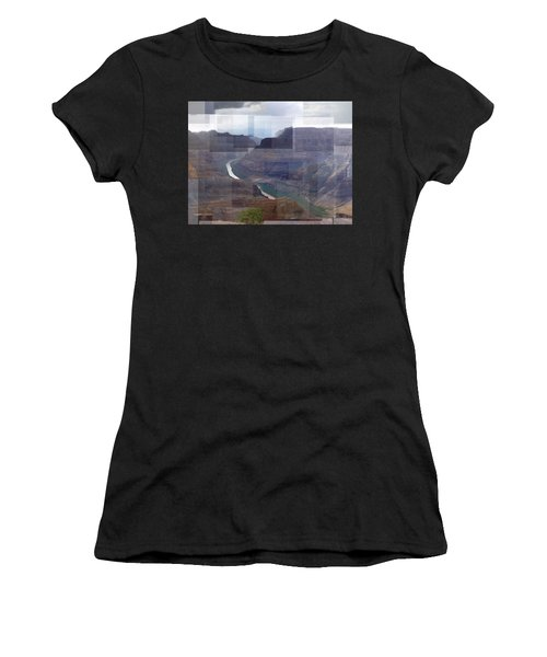 Grand Canyon Guano Point Women's T-Shirt (Athletic Fit)