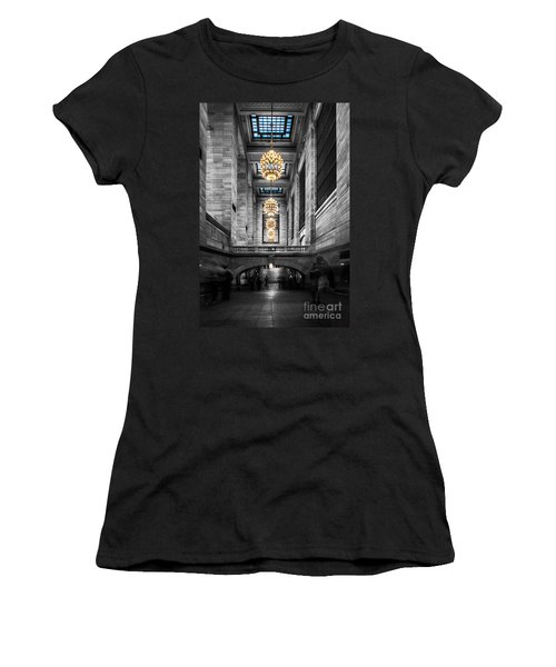 Grand Central Station IIi Ck Women's T-Shirt (Athletic Fit)
