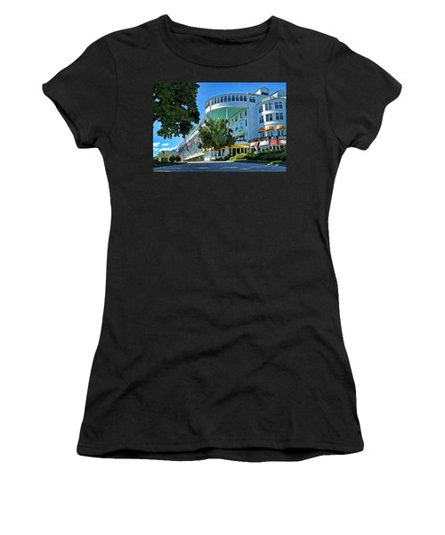 Grand Hotel - Image 003 Women's T-Shirt (Athletic Fit)