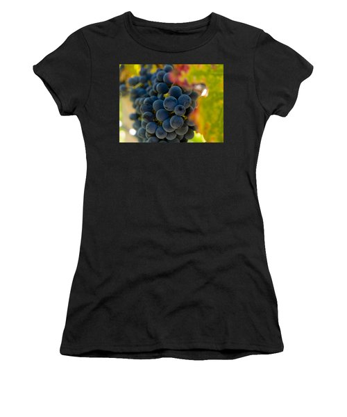 Grapes On The Vine Women's T-Shirt