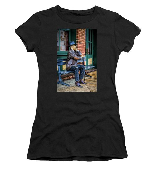 Grapevine Cowboy Women's T-Shirt