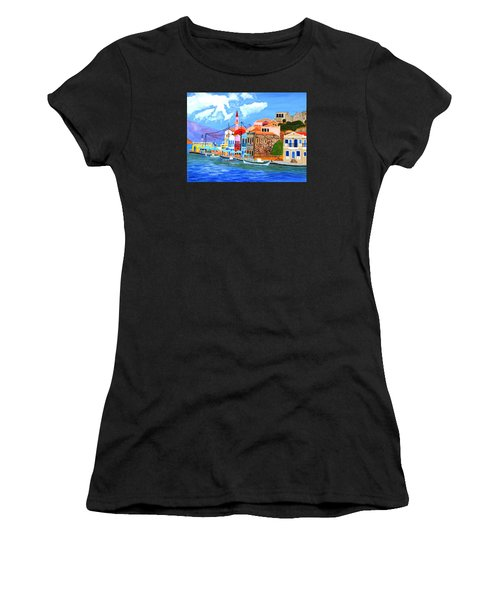 Greek Coast Women's T-Shirt (Athletic Fit)