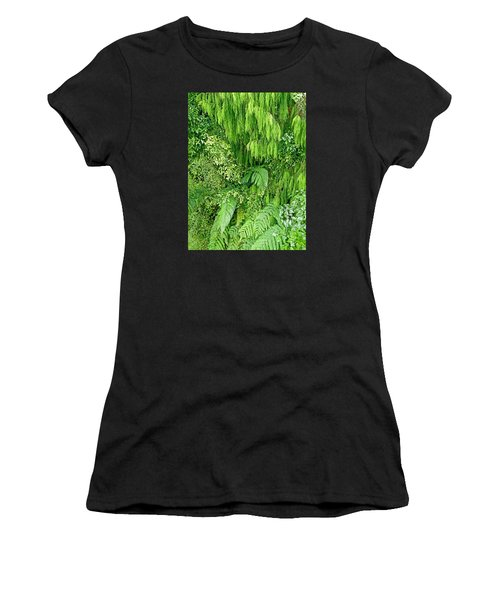 Green Green Women's T-Shirt (Athletic Fit)