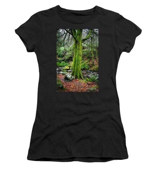 Green Green Moss Women's T-Shirt