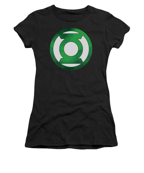 Green Lantern - Green Chrome Logo Women's T-Shirt