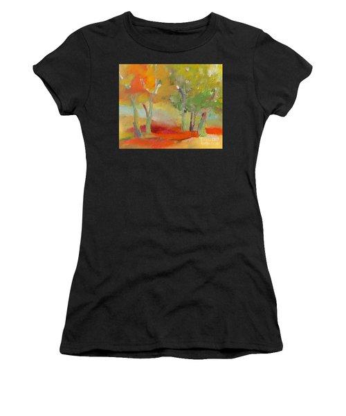Green Trees Women's T-Shirt